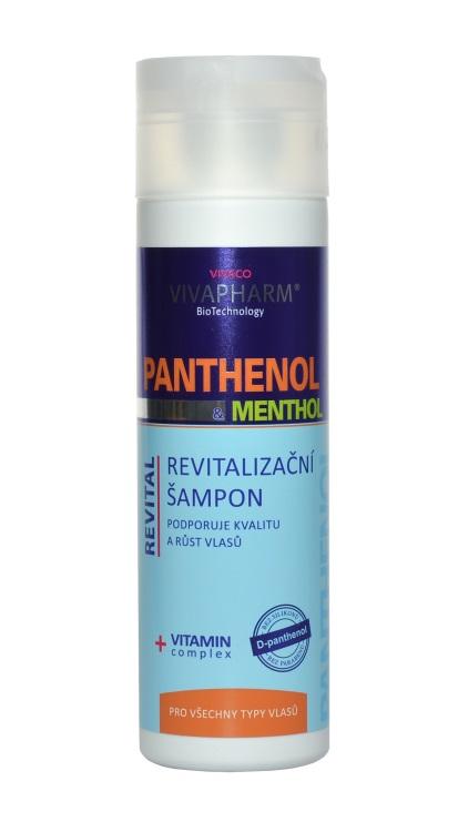 Vivaco Revitalizační šampon s panthenolem a mentholem VIVAPHARM 200ml