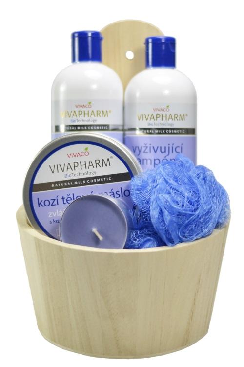 Vivaco Dárkové balení kosmetiky s kozím mlékem VIVAPHARM