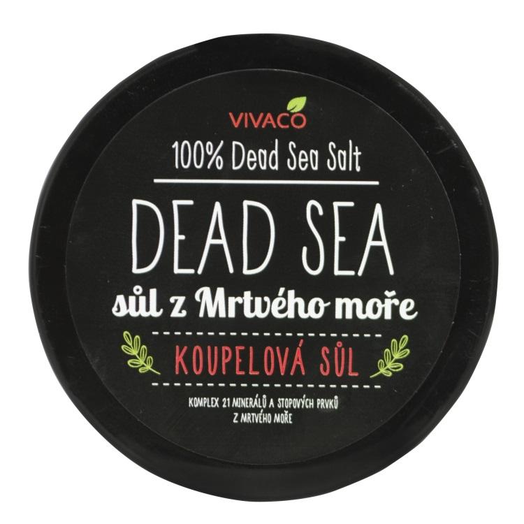Levně Vivaco Koupelová sůl z Mrtvého moře 100 g