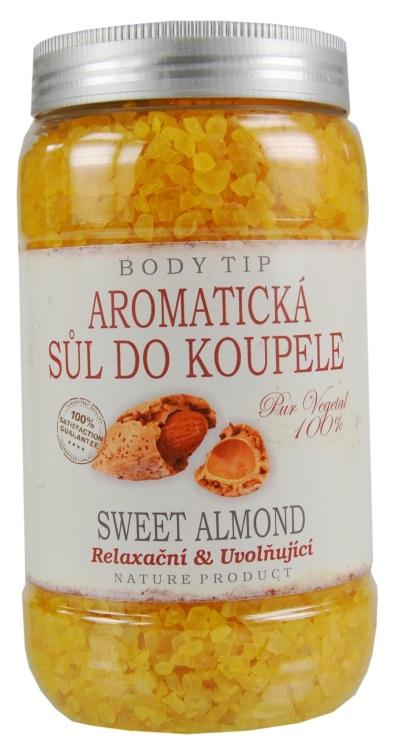Vivaco Sůl do koupele s mandlovým olejem BODY TIP 1200 g