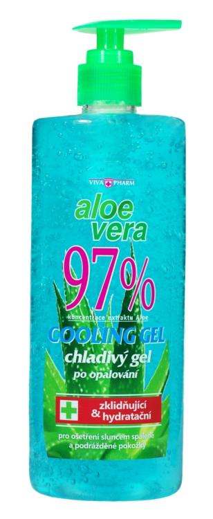 Levně Vivaco Zklidňující gel s Aloe vera 97% 500 ml VIVAPHARM 500 ml
