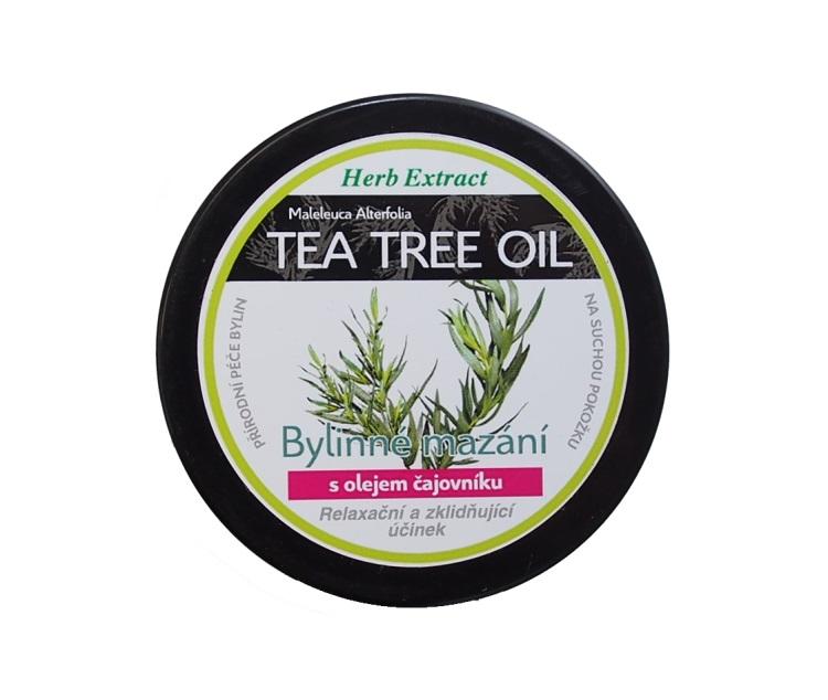 Vivaco Herb extrakt Bylinné mazání S Tea tree oil HERB EXTRACT 100 ml