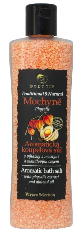 Vivaco Sůl do koupele Mochyně BODY TIP 220 g
