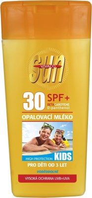 Vivaco Opalovací mléko SPF 30 Kids SUN VITAL 200ml