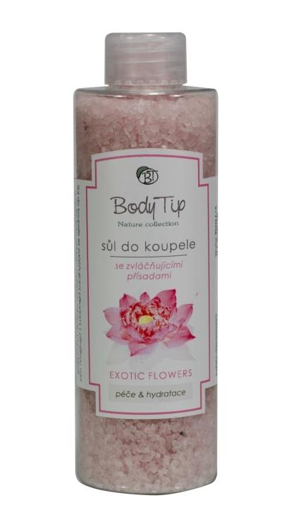 Vivaco Sůl do koupele Lotosový květ BODY TIP 220 g