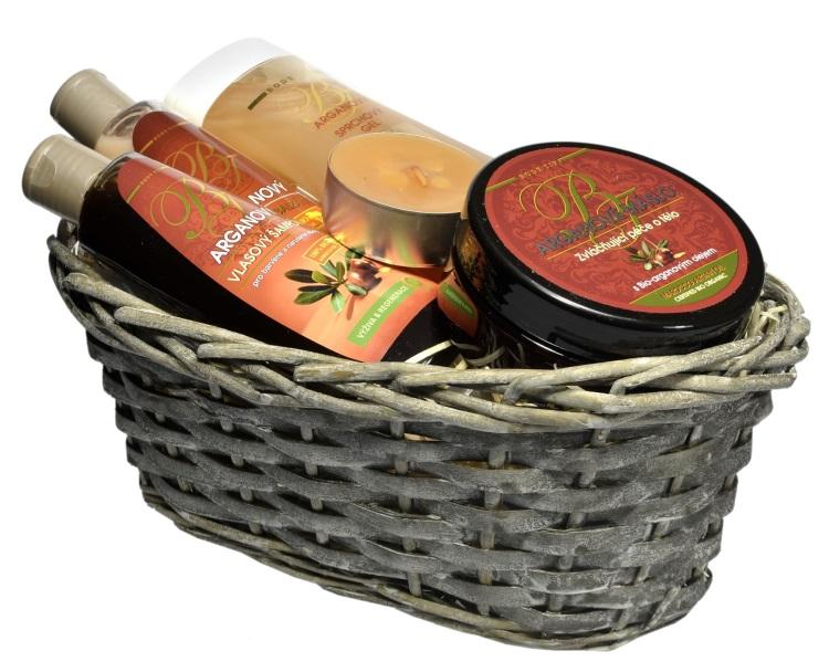 Vivaco Dárkový koš kosmetiky s Bio arganovým olejem BODY TIP 5