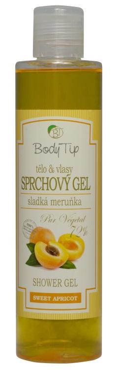 Vivaco Sprchový gel Meruňka BODY TIP 250 ml
