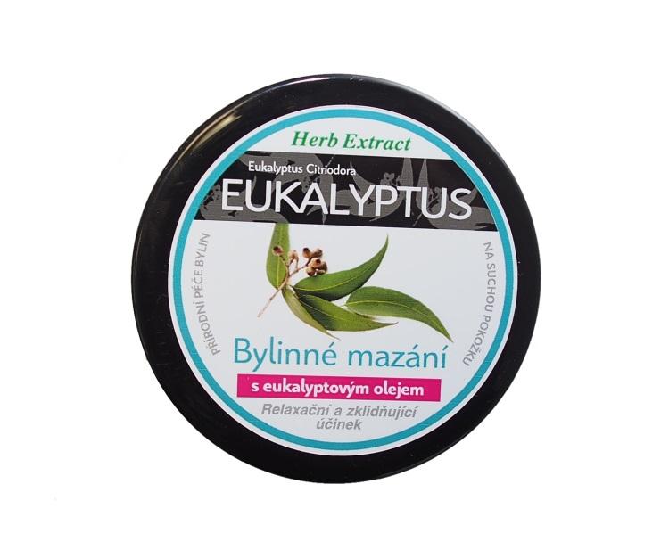 Levně Vivaco Herb extrakt Bylinné mazání s eukalyptovým olejem HERB EXTRACT 100 ml