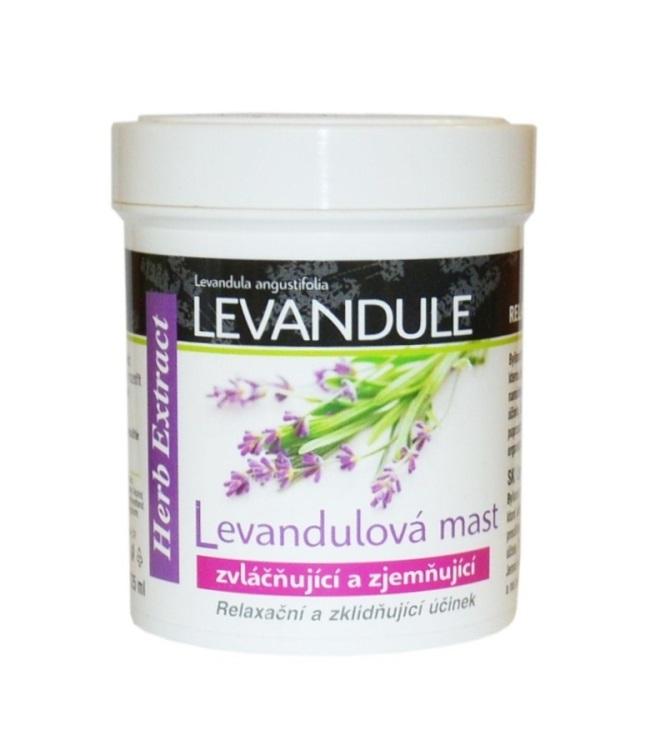 Vivaco Herb extrakt Bylinná mast s levandulovým olejem HERB EXTRACT 125 ml