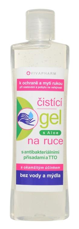 Levně Vivaco Antibakteriální čistící gel na ruce 200 ml VIVAPHARM 200 ml