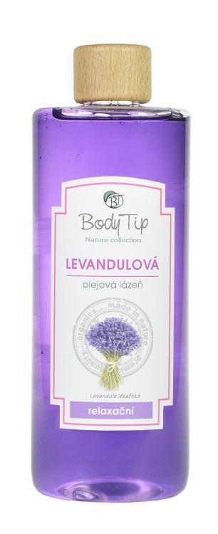Vivaco Olejová pěna do koupele Levandule BODY TIP 500 ml