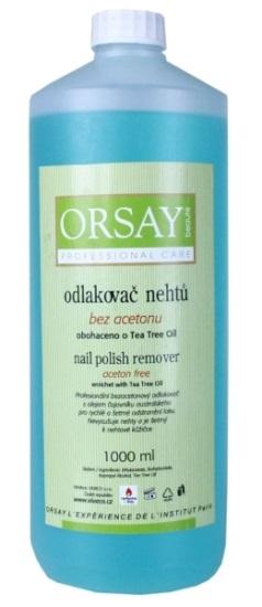 ORSAY Nail polish remover with Tea Tree Oil