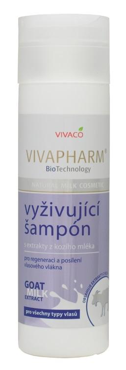 Levně Vivaco Šampon na vlasy s kozím mlékem VIVAPHARM 200ml