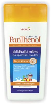Vivaco PANTHENOL Mléko pro děti 6% 200 ml