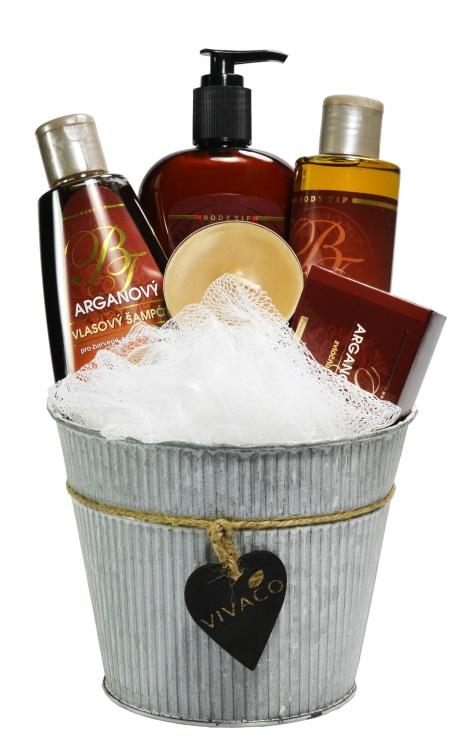 Vivaco Dárkové balení kosmetiky s Bio arganovým olejem Body Tip