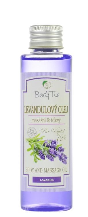 Vivaco Masážní olej Levandule BODY TIP 100 ml