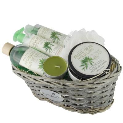 Vivaco Dárkový košík Cannabis BODY TIP