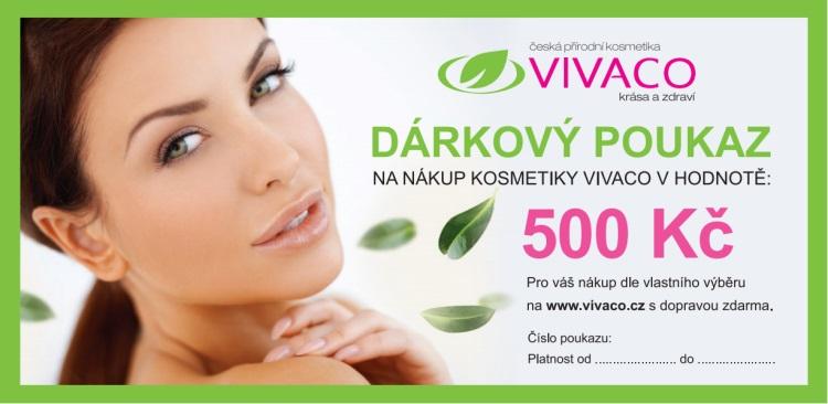 Vivaco Dárkový poukaz v hodnotě 500 Kč