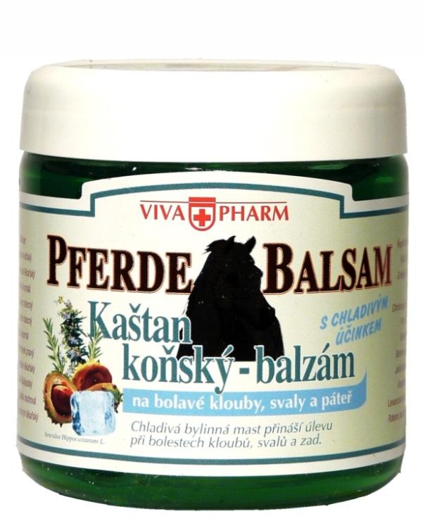 Vivaco VivaPharm PFERDE BALSAM Chladivá bylinná mast s kaštanem koňským 500 ml