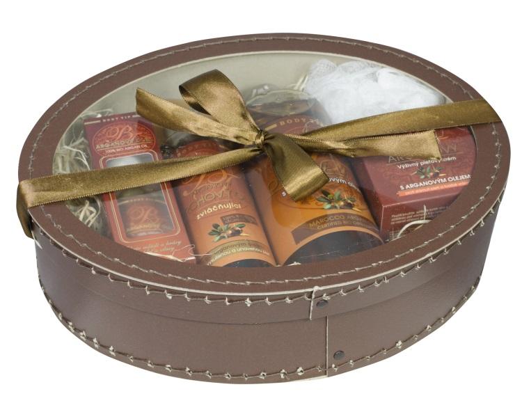 Vivaco Dárkové balení kosmetiky s Bio arganovým olejem BODY TIP 6