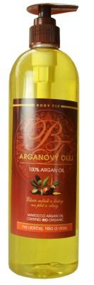 Vivaco BODY TIP Masážní olej s Arganovým olejem 500 ml
