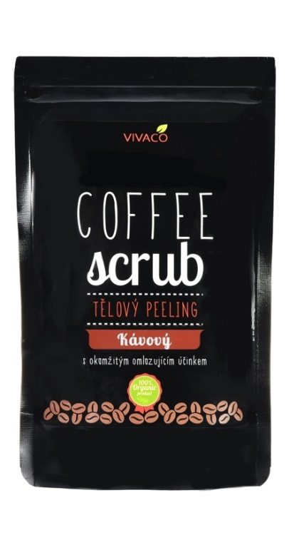 Vivaco Coffee scrub Tělový kávový peeling 30 g