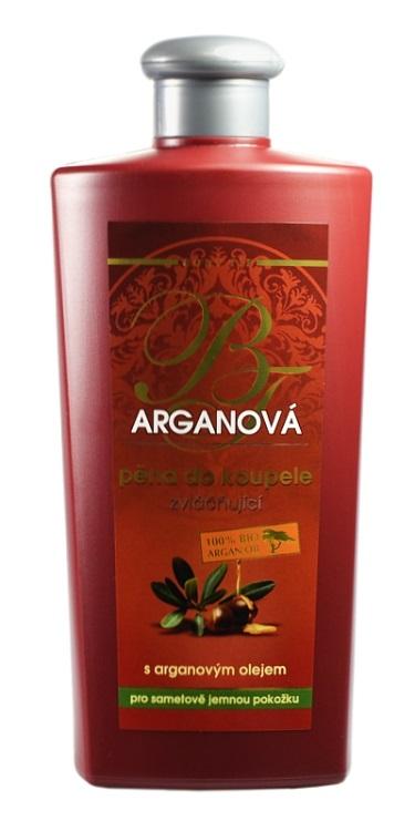 Vivaco Zvláčňující arganová pěna do koupele BODY TIP 400 ml
