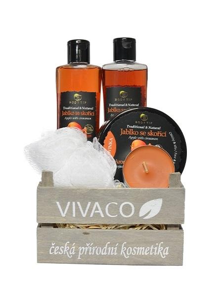 Vivaco Dárkové balení kosmetiky s Jablkem a skořicí Body Tip