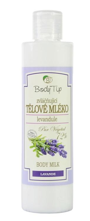 Levně Vivaco Tělové mléko Levandule BODY TIP 250 ml