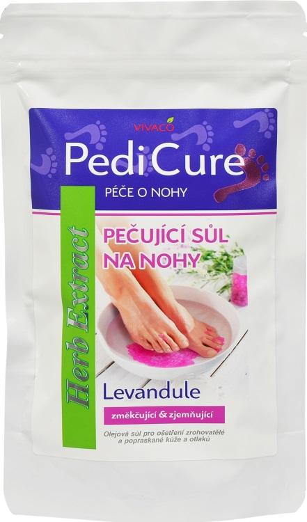 Levně Vivaco Herb extrakt Sůl na nohy s levandulovým olejem HERB EXTRACT 300 g