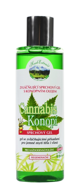 Sprchový gel Cannabis HERB EXTRACT