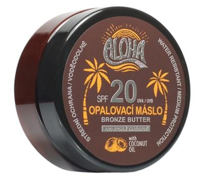 ALOHA Opalovací máslo s kokosovým olejem OF 20