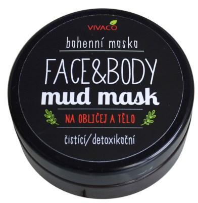 Bahenní maska na obličej a tělo