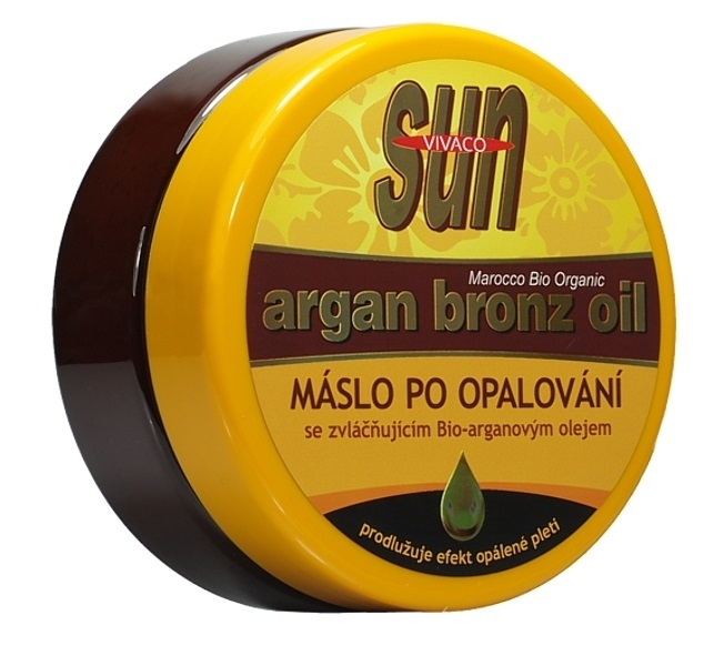 SUN Máslo po opalování s arganovým olejem