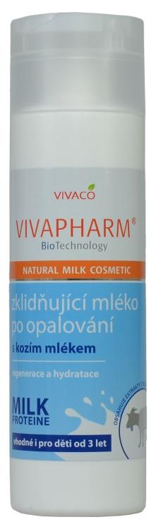 Vivapharm zklidňující mléko po opalování