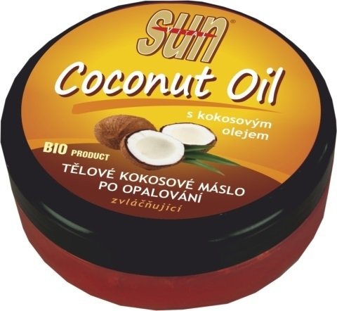 SUN Coconut oil máslo po opalování