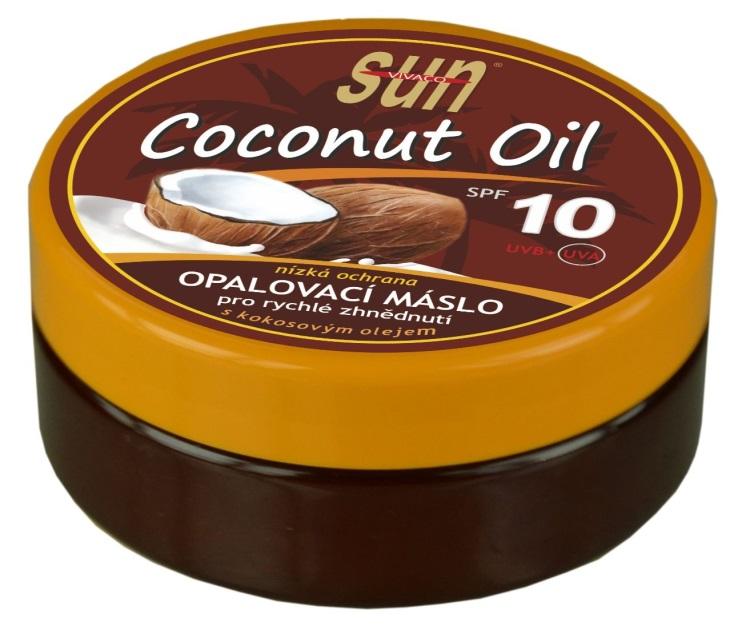 SUN Coconut oil opalovací máslo OF 10