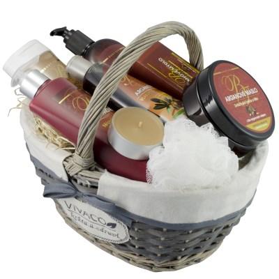 Dárkový koš kosmetiky s Bio arganovým olejem BODY TIP