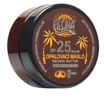ALOHA Opalovací máslo s kokosovým olejem SPF 25