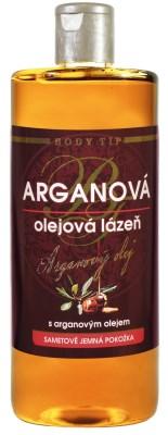 Olejová lázeň do koupele s Bio arganovým olejem BODY TIP